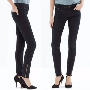 Madewell Moto Stretch Ankle Zip 24